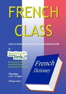 French class @ Brockworth Link & Community Library