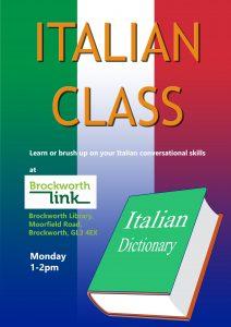 Italian Class @ Brockworth Link & Community Library