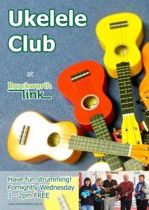 Ukelele club poster