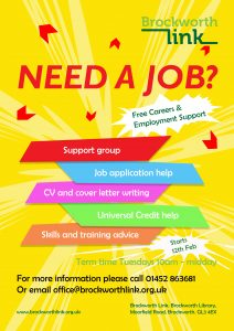 Employability Support poster