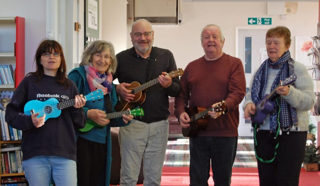 Ukelele Club at Brockworth Link